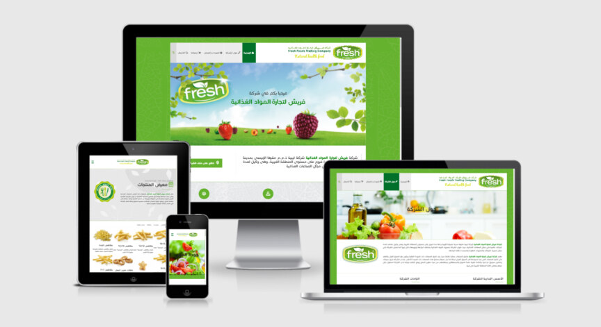 Fresh Foods Website by Kashida